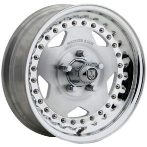 4 centerline Convo Pro 15x4 5x4 75 6mm Polished Wheels Rims 15 Inch