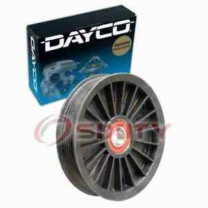 Dayco Drive Belt Idler Pulley For 1994 2004 Ford Mustang 3 8l 3 9l V6 Engine Xt