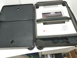 3m Vintage 4180 Lcd Projection Panel Set Includes Case Remote Manual Cords