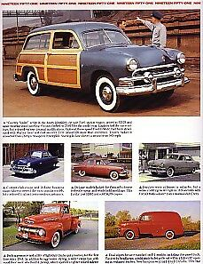 1951 Ford Convertible Woody Station Wagon Article Must See Crestliner