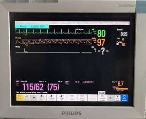 Philips Intellivue Mp70 Touch Screen Patient Monitor Rev F 01 42 W M3001a de7
