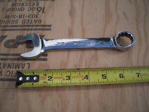 Snap On Combination Wrench 7 8 Short Stubby Oex280b Excellent Condition