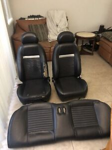 03 04 Mach 1 Mustang Front Rear Seats