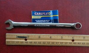 10mm Carlyle Long Combination End Wrench Part Number Cwlns110m