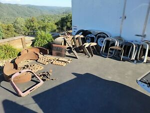Huge Model T A Ford Parts Lot Cowl Radiator Pedals Dash Flat Head Heads Mor