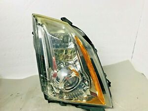 2008 2009 2010 2011 2012 2013 2014 Cadillac Ct S Rh Xenon Hid Headlight Damaged