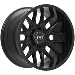 4 Motiv 423b Magnus 20x9 5x5 5 5x150 18mm Gloss Black Wheels Rims 20 Inch
