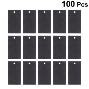 100pcs Earring Display Cards Paper Hook Earring Display Cards For Jewelry Store