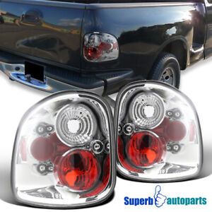 For 1997 2003 Ford F150 F 150 Flareside Tail Lights Brake Lamps Pair