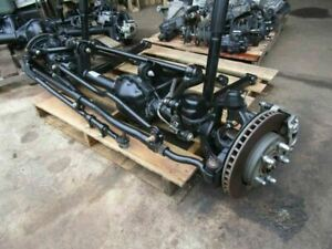 07 17 Jeep Wrangler Jk Jku Front Axle Differential Complete 3 21 Ratio Low Miles