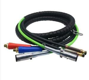 Heavy Duty Tractor Trailer 3 In 1 Air Hose Abs Power Cable Semi Service Line