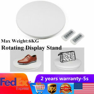 Commercial 360 Electric Rotating Display Stand Turntable 60cm Two way Rotation