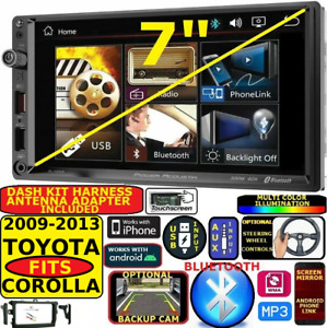 Fits 2009 2013 Toyota Corolla Bluetooth Aux Usb Car Radio Stereo Package