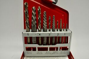 Snap On Exdl10 Extractor Left Handed Cobalt Drill Set