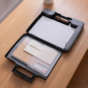 1 Pc File Folder Portable Practical Document Case For Office Business Trip