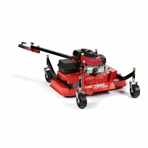 Titan Attachments 48 Atv Tow behind Finish Mower Briggs And Stratton Electric