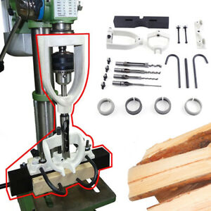 Woodworking Square Hole Chisel Mortising Mortise Locator Set For Bench Drill