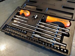 Matco Tools 45pc Ratcheting Screwdriver Set