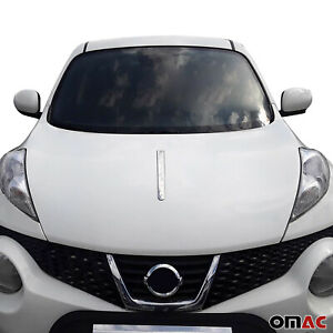 Chrome Front Hood Bonnet Spear Strip Styling Trim Fits Nissan Juke 2011 2017