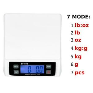 Smart Weigh Digital Shipping And Postal Weight Scale 66 Pounds X 0 1 Oz 30kg