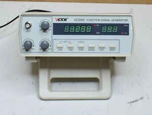 Victor Vc2002 Function Signal Generator Power Tested Sold As Is