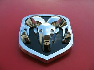 13 14 15 16 17 Dodge Ram Front Grille Chrome Emblem Logo Badge Sign Used B9462