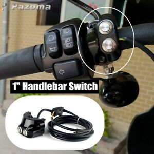 Motorcycle Air Ride Suspension Control Kit For Harley Dyna 1 Handlebar Switch