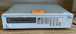 Hp Agilent 6632a 0 To 20v 0 To 5a 100w Programmable Digital Dc Power Supply
