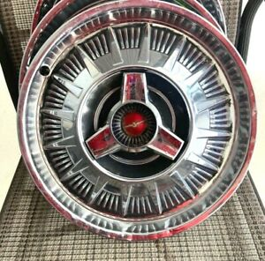 15 1964 Ford Thunderbird Spinner Type Hubcap Wheelcover 1 Totally Original