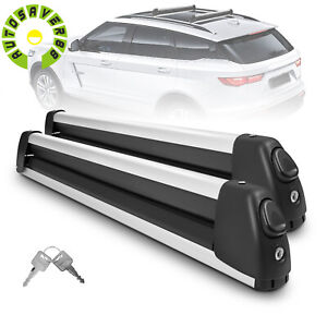 2 X 30 Ski Rack Snowboard Roof Rack Carriers Universal For Snowboard Carrying
