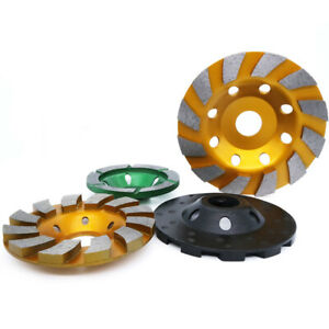 3 5 Diamond Cup Grinding Wheel 3 pcs For Concrete Granite Marble Angle Grinder