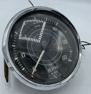 Jaeger Tachometer For Triumph Tr2 Tr3 Rn1402 09 Rpm With Glass And Chrome