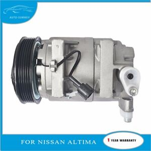 For 2002 2006 Nissan Altima 2 5l A C Compressor And Clutch