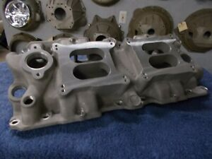 Offy Offenhauser 348 409 Chevy Dual Quad Intake Manifold