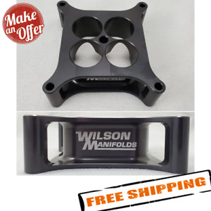 Wilson Manifolds 004150 4150 Carb Spacer 2 00 4 Hole Tapered