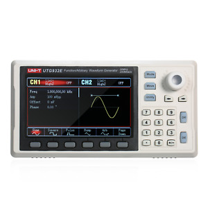 Utg932e Signal Generator Arbitrary Waveform Frequency Meter 2ch 30mhz Ac110 240v