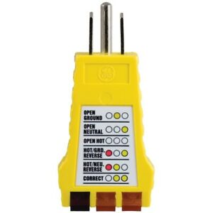 Power Gear 50542 Receptacle Tester