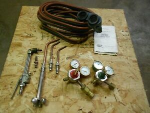 Smith Welding Cutting Torch Gauges Hoses