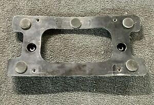 Land Rover Discovery 2 Ii Rear License Plate Holder Mounting Bracket Drb100390