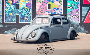 1956 Volkswagen Beetle Classic 1956 Beetle Custom Show Car Magazine Feature Air Ride 1915cc Much More