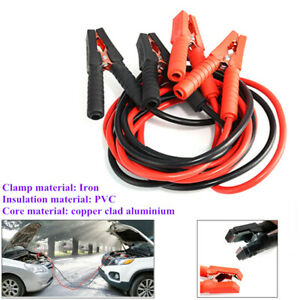 Heavy Duty Car Suv Lead Battery Jump Booster Cable Start Emergency Jumper Tool