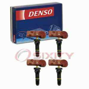 4 Pc Denso Tire Pressure Monitoring System Sensors For 2011 2014 Ford Flex Dw