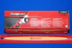 New Snap On Red 18 V Rechargeable Monsterlithium Cordless Work Light Tool Only