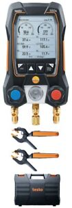 Testo 550s Smart Digital Manifold Kit With Wireless Temperature Probes 14 To