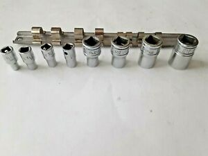 Vintage 8 Pc Snap On Inverted Shallow Torx Socket Set