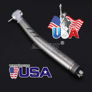 Dental E generator Led High Speed Handpiece 4hole Ceramic Bearing Stainless Body