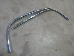 1949 1952 Chevrolet Styleline Coupe Exterior Front Windshield Trim Molding
