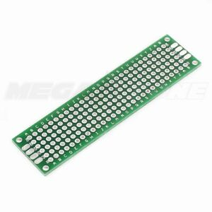 2x8 Cm Double Sided Prototype Circuit Breadboard Pcb Universal Series Usa Seller