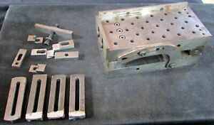 Toolmaker Machinist 3 X 6 Precision Sine Plate With 28 1 4 20 Threads