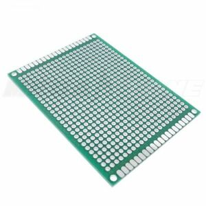 6x8cm Double Sided Prototype Circuit Breadboard Pcb Universal Series Usa Seller